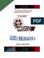 ALERTA-BIBLIOGRÁFICA-CEDIB-abril-junio-2012