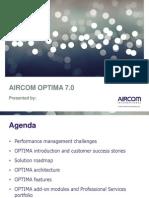 Introduction to Aircom Optima