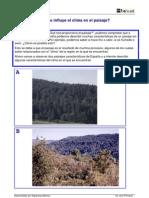 CM Observ Entorno Como Influye El Clima en El Paisaje