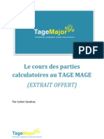 e Book Calculatoires Extrait