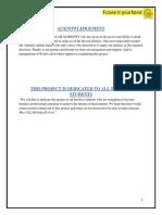 A Project Report on World Call Telecommunication Limited Pakistan.