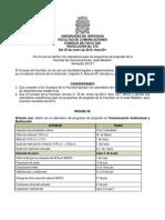 Resolución CF 678 - Calendarios pregrados Medellín 2013-1