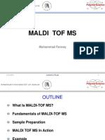 MALDI TOF