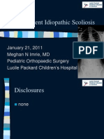 scoliosis ppt