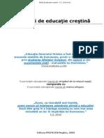 Studii de educație creștină - E. A. Sutherland