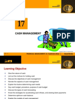 cash mgt system
