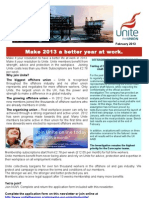 Unite the union offshore newsletter