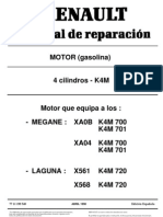 Motor Renault Platina 1.6