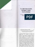 La Revolucion Teorica Del Zapatismo Walter Mignolo