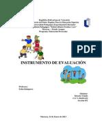 preescolar - pedagogico-INSTRUMENTO DE EVALUACIÓN