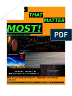 issues that matter most - first edition - PLANET -X-