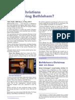"""Palestine"" – Why are Arab Christians leaving Bethlehem?"