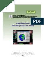 Modul Instalasi Sistem Operasi Berbasis GUI