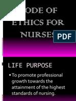 nursing ode of ethics