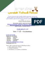 Parashat Yitro # 17 Adul 6013