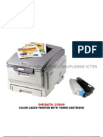 Oki C5500-5600-5700-5800-5900-6000-6100 Toner Dolum Teknikleri