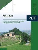 Inventario Nazionale Agricoltura ISPRA 2008