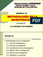 Sesion04-Metodologia de La Investigacion