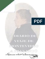 Damaso Antonio Larrañaga - Diario de viaje de Montevideo a Paysandú