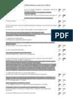 MCEM Paediatrics obstetrics and gyne MCQ