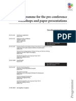 CILC2012 Program