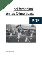 Voleibol Femenino en Las Primeras Olimpiadas