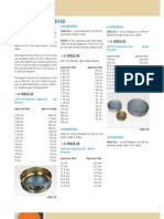 Conversion Table For Standard Test Sieves