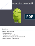 Introduction to Android 2013