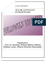 Proiect de Activitate Extrascolara (2)