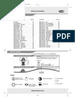 Catalogo de Valvula Termostatica