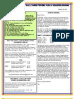Newsletter 130131
