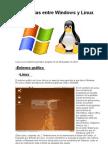 Diferencias Entre Windows y Linux