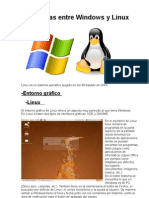 Diferencias Entre Windows y Linux