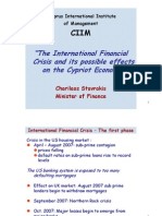 CIIM crisis and after effects