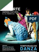 Agenda cultural de Conarte | febrero 2013