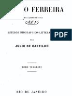 António Ferreira, poeta quinhentista, vol. 3