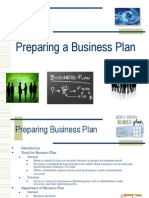 Preparing Business Plan