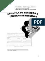 APOSTILA SISTEMAS E TÉCNICAS DE RESERVAS ATUALIZADA 2010