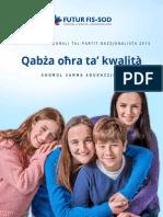 PN electoral programme 2013