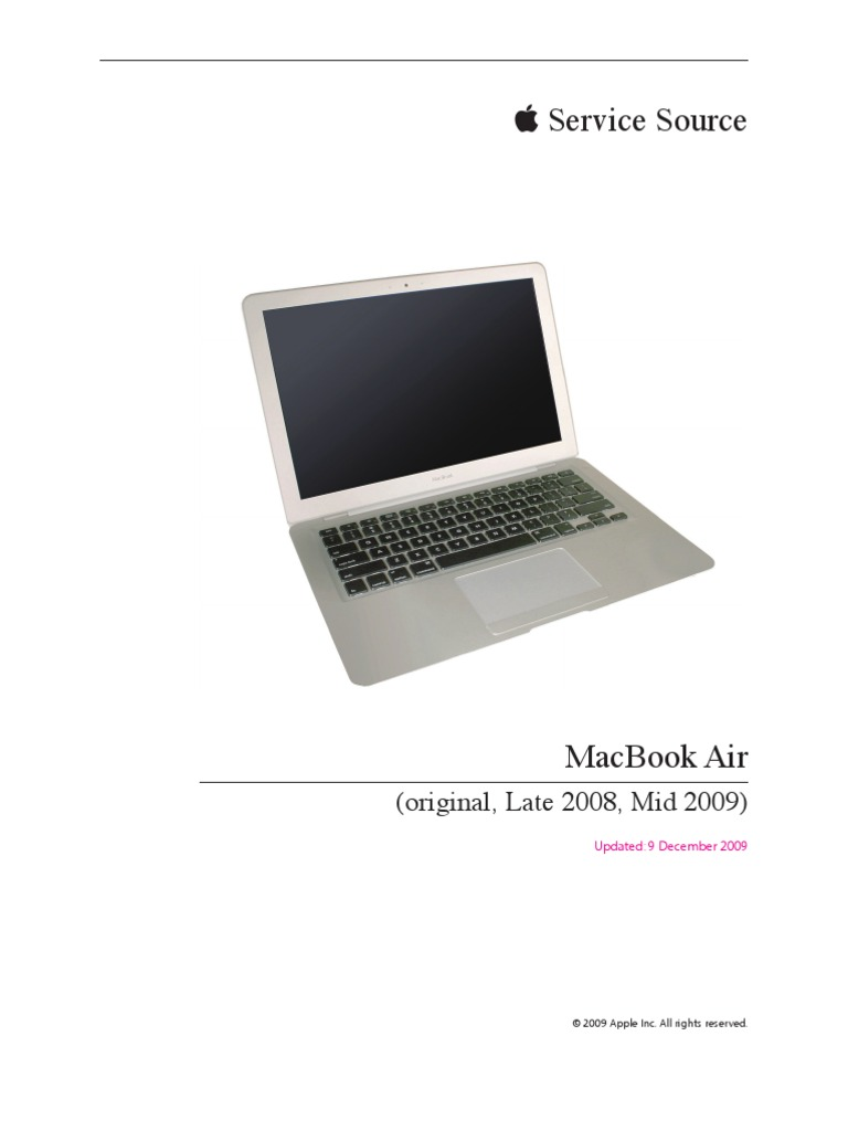 инструкция для macbook air