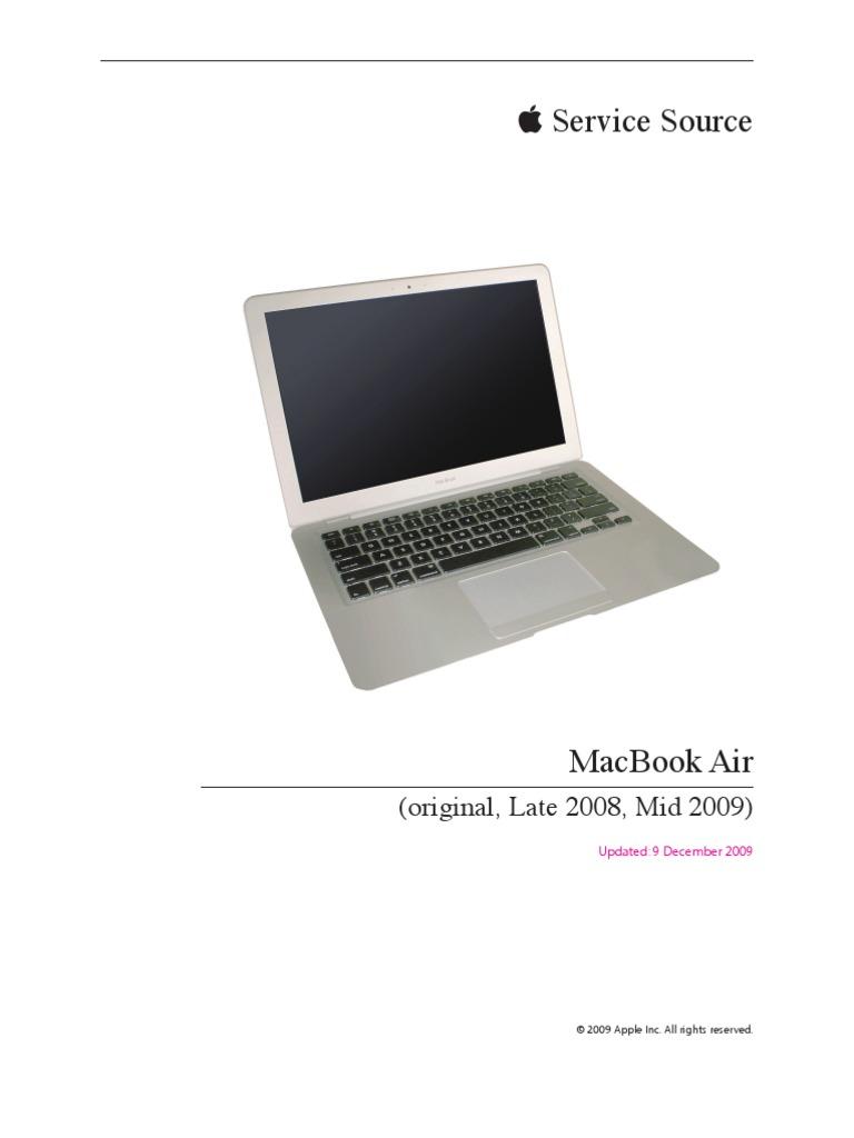 инструкция по macbook air