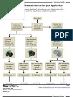 Ultrasonic Sensor - Sensor_Selection_Guide