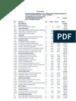 Presupuesto de Cerco Perimetrico de Una Institucion Educativa