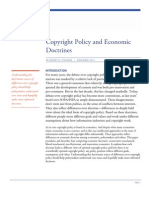 Copyright Policy and Economic Doctrines