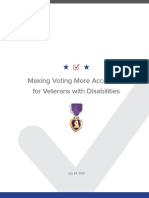 Making Voting More Accessible for Veterans with Disabilities