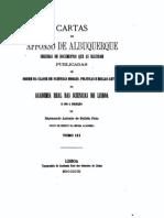 Cartas de Afonso de Albuquerque, vol. 3