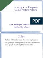 SeminarioI Gestion Integral de Riesgo de Desastre Como Politica Publica