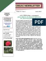 CMAAC January 2013 Newsletter