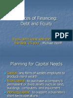 Source of Financing