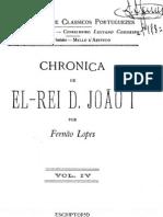 Crónica de el-rei D. João I, por Fernão Lopes, vol. 4-6
